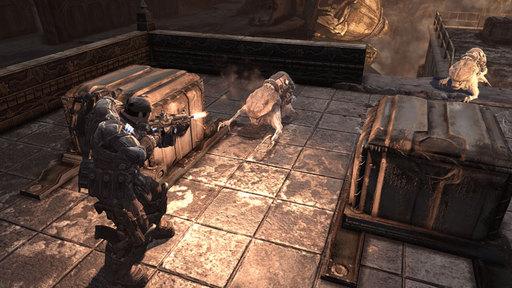 Gears of War 2 - Официальные скриншоты