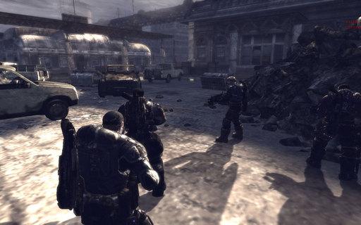 Gears of War - Официальные скриншоты