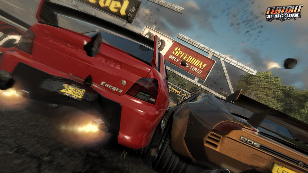 FlatOut Ultimate Carnage - Официальные скриншоты.