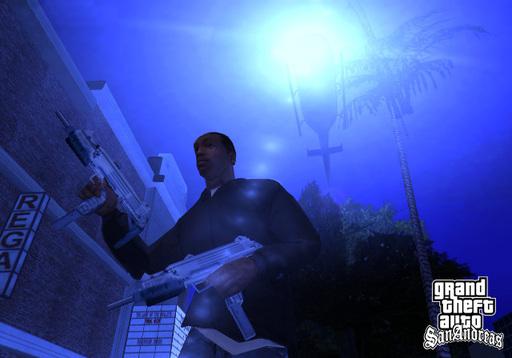 Grand Theft Auto: San Andreas - Официальные скриншоты