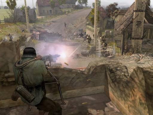 Company of Heroes - Официальные скриншоты