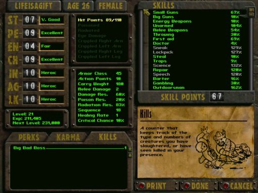 Fallout 2 - Life is a gift