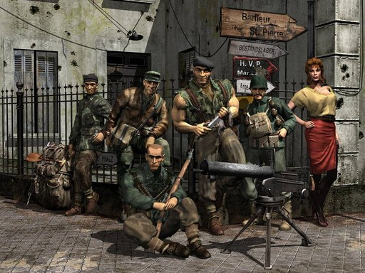 Commandos: Behind Enemy Lines - Commando