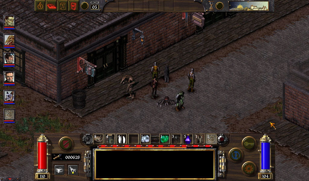 Arcanum: Of Steamworks and Magick Obscura - Hi-res patch. Штатная магнитол