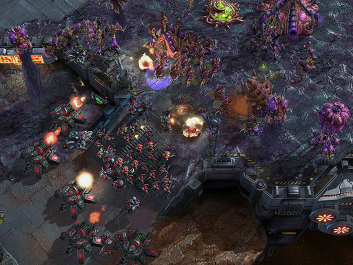 StarCraft II: Heart of the Swarm - Скриншоты сварма