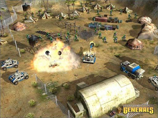 Command & Conquer: Generals - Скриншоты