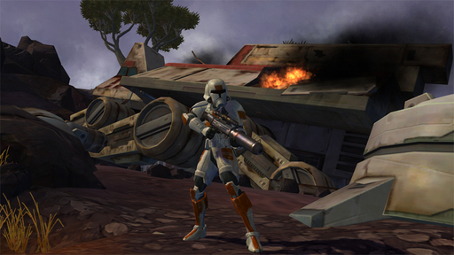 Star Wars: The Old Republic - Trooper