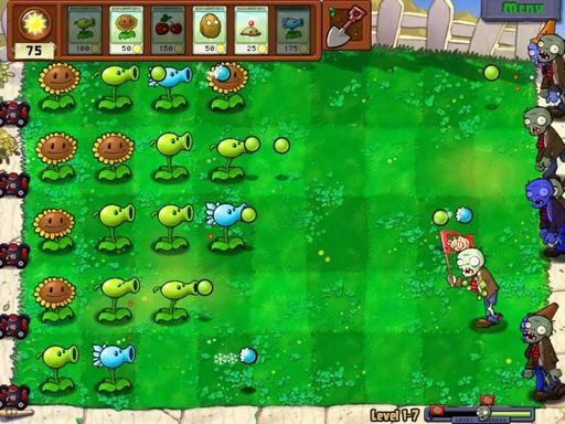 Обзор игры Plants vs. Zombies от stopgameточкару