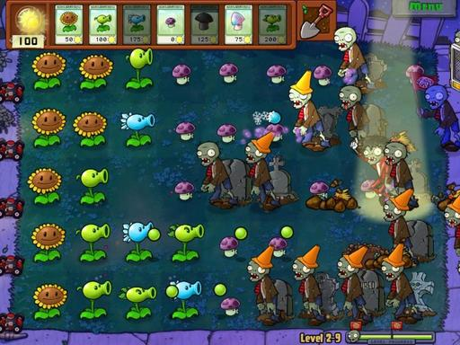 Plants vs. Zombies - Обзор игры Plants vs. Zombies от stopgameточкару
