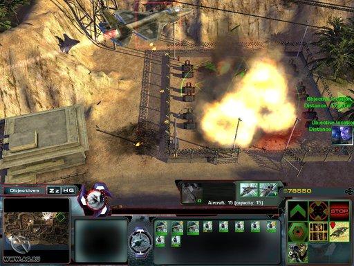 Act of War: Шок и трепет - Скриншоты