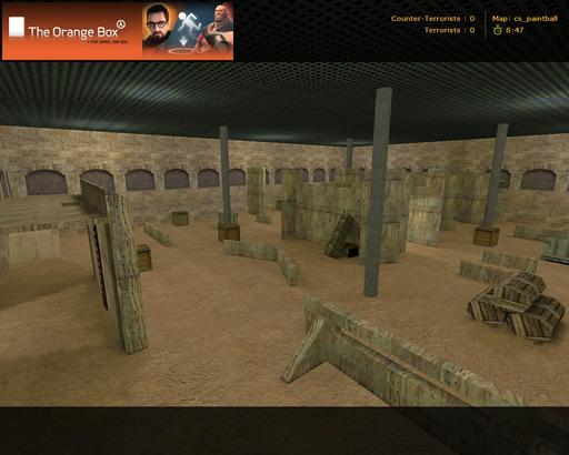 Half-Life: Counter-Strike - paintball_mod in cs 1.6
