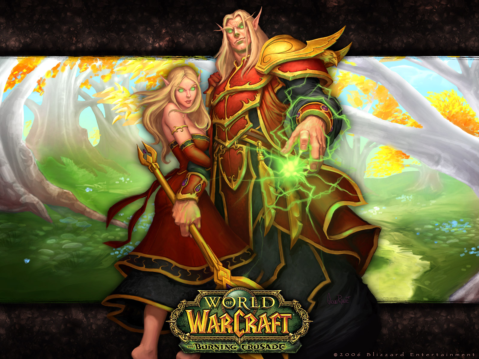 Warcraft blood elves exploited clip