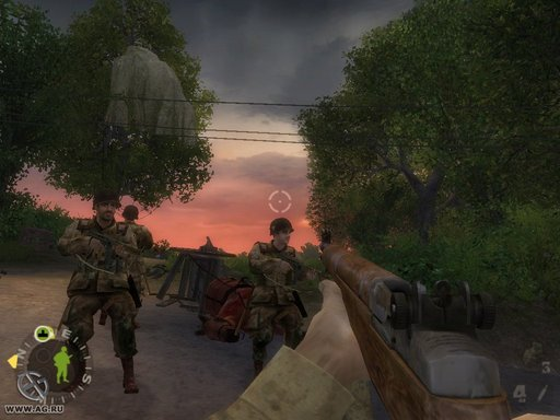 Brothers in Arms: Road to Hill 30 - Screenshots