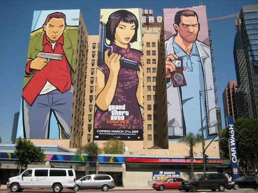 Grand Theft Auto IV - GTA Chinatown Wars на улицах Лос Анджелеса