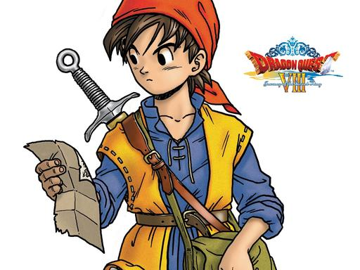 Dragon Quest VIII: Journey of the Cursed King - Обои и фанарт