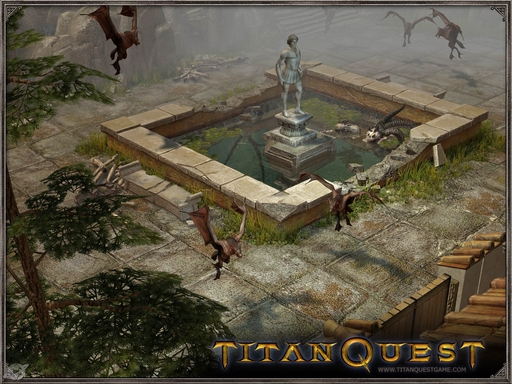 Titan Quest: Immortal Throne - Скриншоты Titan Quest: Immortal Throne