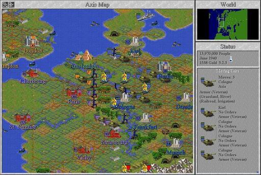 Civilization II - Пара скринов для тех кто забыл.