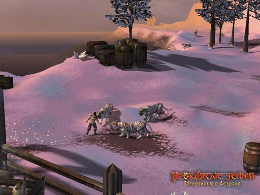 Проклятые Земли Затерянные в Астрале - Скриншоты из игры.