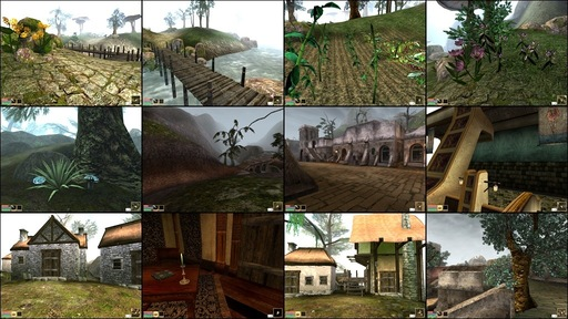 Elder Scrolls III: Morrowind, The - Morrowind Graphic Extender и Morrowind Visual Pack