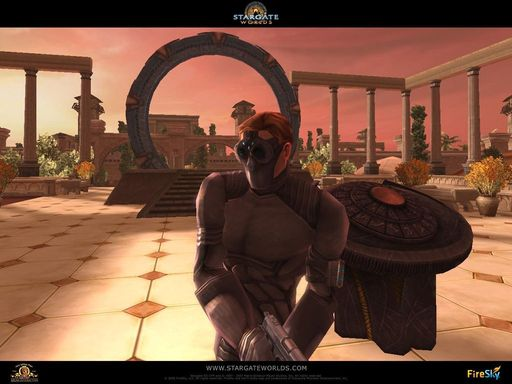 Stargate Worlds - New Praxis Commando images added!