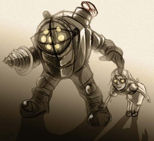 BioShock - Фан-арт