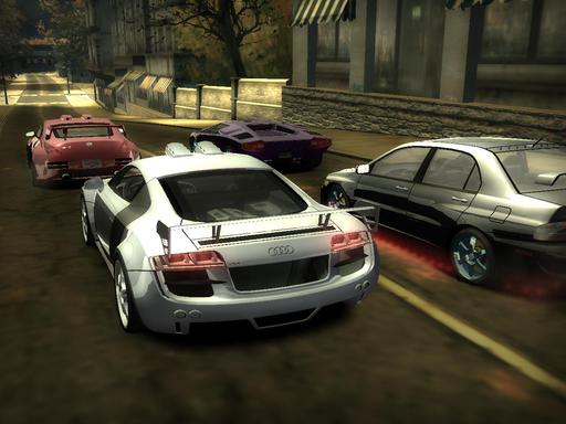 Need for Speed Most Wanted - Скриншоты из модифицированного Most Wanted