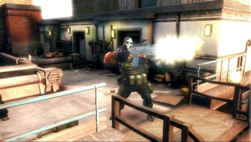 Army of Two: The 40th Day - скриншоты PSP-версии Army of Two: 40 Days.