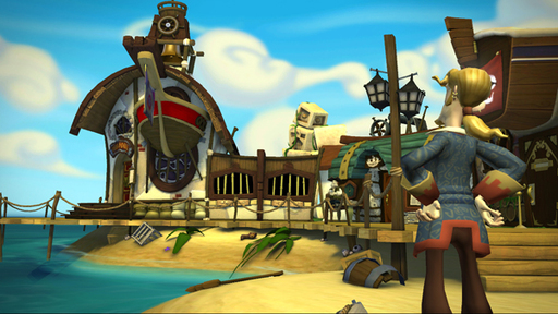 Curse of Monkey Island, The - Скриншоты и арты Tales of Monkey Island