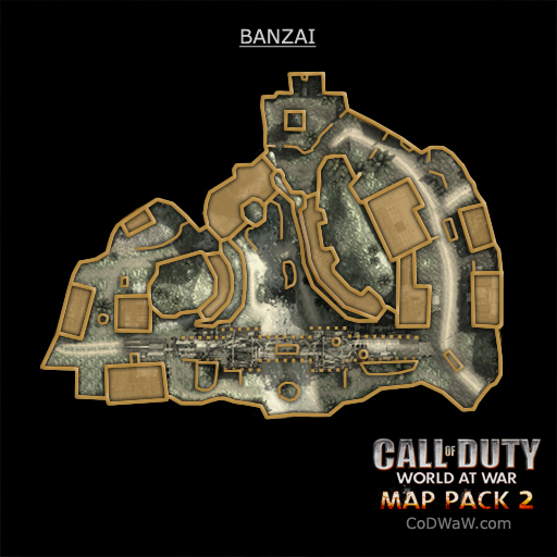 Call of Duty: World at War - Map Pack 2. Схемы будущих карт