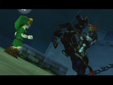 "Legend of Zelda: Ocarina of Time, The - Ganondorf ""Эволюция""."
