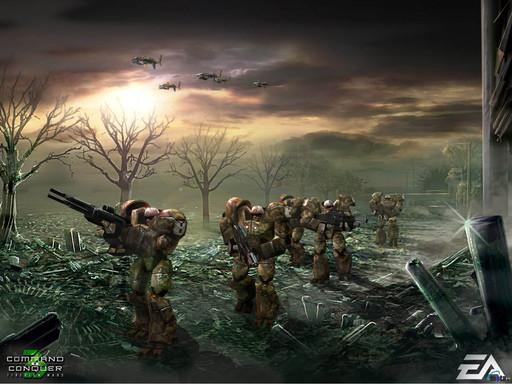 Command & Conquer 3: Tiberium Wars - Обоя для рабочего стола