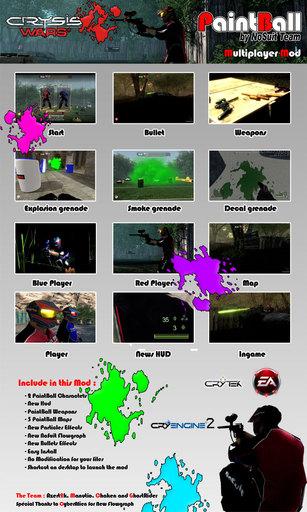 Crysis Warhead - Paintball Mod