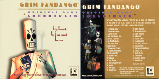 Grim Fandango Original Game Soundtrack