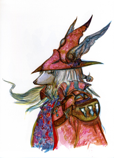 Final Fantasy IX - [Artbook] Final Fantasy IX  Visual Arts Collection