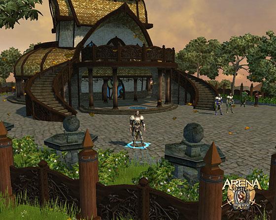Арена онлайн попасть на тихий остров