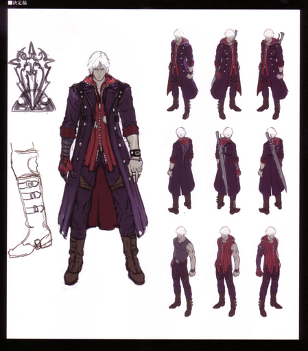 Devil May Cry 4 - Devil's Material Collection/Art of the Devil