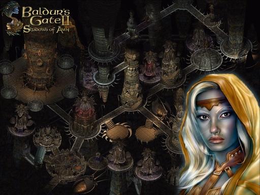 Baldur's Gate 2: Тени Амна - Обои