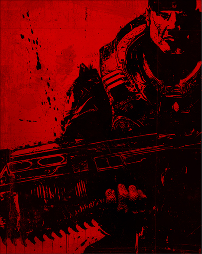 Gears of War 2 - Маркус Феникс и вечная мерзлота