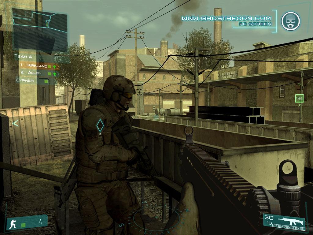 скачать игру Tom Clancy S Ghost Recon Advanced Warfighter 2 - фото 10
