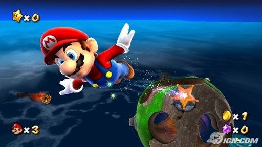 Super Mario Galaxy review