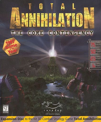 Total Annihilation - Дополнения. Часть 1: The Core Contingency (CC)
