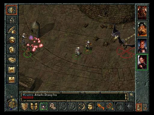 Baldur's Gate - Скриншоты из игры