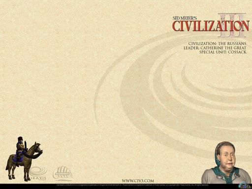 Civilization III - Коллекция обоев по нациям :)