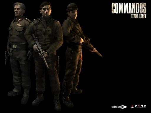 Commandos: Strike Force Wallpapers