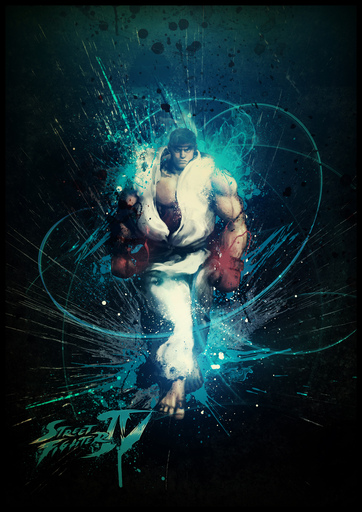 Street Fighter IV - Street Fighter 4 Concept Wallpapers