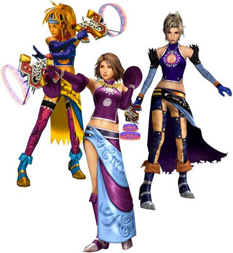 Dresspheres Final Fantasy X-2 (Часть 1)