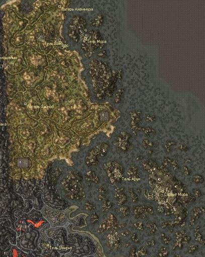 Elder Scrolls III: Morrowind, The - Текущая обстановка в провинции Вварденфелл, исконные фракции.