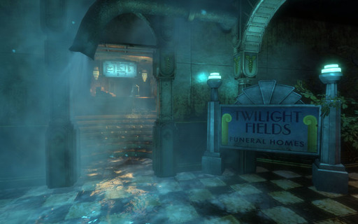 BioShock - Экскурсия по подводному городу. Медицинский павильон.