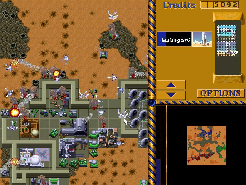 скачать игру Dune 2 - фото 10