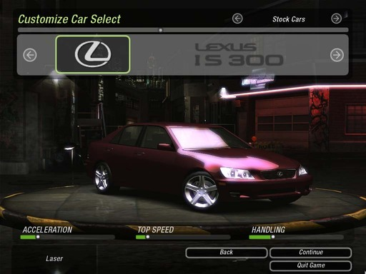 Need for Speed: Underground 2 - Cars